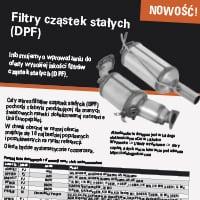 Filtry cząstek stałych (DPF)