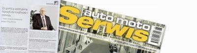 auto moto Serwis 5/2018 (255) - wywiad z Panem Andrzejem Senkowskim