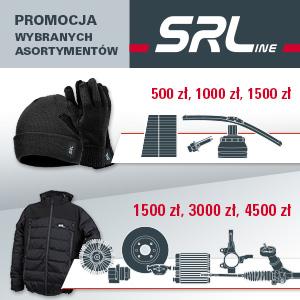 SRLine - hamulce, układ kierowniczy, nagrzewnice, przeguby i inne wybrane
