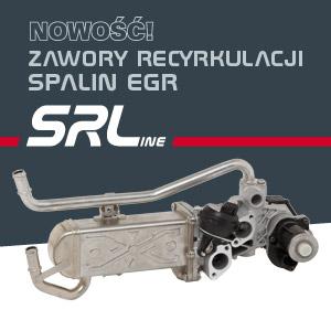 Zawory recyrkulacji spalin EGR SRLine